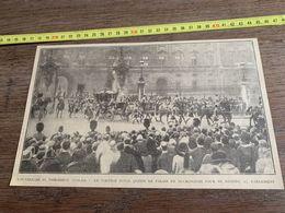 ANNEES 20/30 OUVERTURE DU PARLEMENT ANGLAIS CORTEGE ROYAL QUITTE LE PALAIS DE BUCKINGHAM - Sammlungen