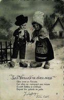 Carte Postale -  Couple Poupée Les Vieilles De Chez Nous - Dolls