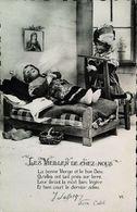 CPA   Deuil Morte Prière Poupée Les Vieilles De Chez Nous - Carte Postale Card - Dolls