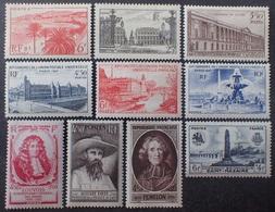 VL3804/129 - 1947 - DIVERS - N°777 à 786 NEUFS* - France