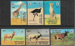 Niger 1978 Wildlife Set MNH - Unused Stamps