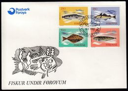 Faroe Islands 1983 / Fish, Fishing Industry / FDC - Isole Faroer
