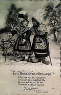 Carte Postale - CPA  Poupée Les Vieilles De Chez Nous - Dolls