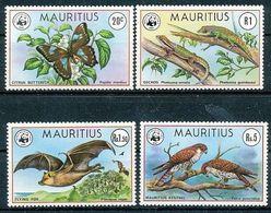 Mauritius 1978 Wildlife MNH Set - Unused Stamps