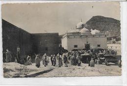 BOU-SAADA . ALGERIE . La Mosquée Animée , édit : Jomon Alger , Photo Ofalac , écrite En 1952 , état Extra - Argelia