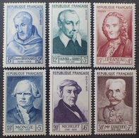 VL3804/138 - 1953 - CELEBRITES - SERIE COMPLETE - N°945 à 950 NEUFS* - Cote (2020) : 45,00 € - Francia