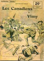 """Revue Collection """"Patrie""""  Les Canadiens à VIMY - Français"""
