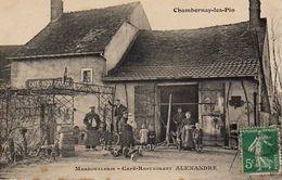 S28-013 Chambornay Les Pin - Maréchalerie - Café-Restaurant ALEXANDRE - France