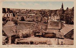 S28-016 Toulon Sur Arroux - Vue Générale Et Pontin - Autres Communes