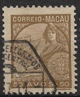 Macao Macau – 1934 Padrões Type 50 Avos - Macao