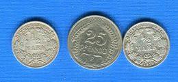 25  Pf  +  2  Pieces - [ 2] 1871-1918 : Empire Allemand