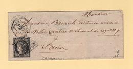 Bazas - 32 - Gironde - 6 Avril 1850 - Sans Correspondance - 1849-1876: Période Classique