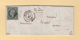 Rennes - 34 - Ille Et Vilaine - 3 Mai 1854 - 1849-1876: Période Classique