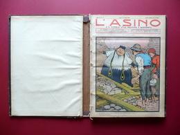 L'Asino è Il Popolo Utile Paziente Bastonato Anno XV 35 Numeri 1906 - Bücher, Zeitschriften, Comics