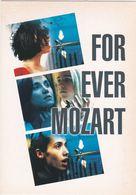 D2203 CARTE PUBLICITAIRE - FOR EVER MOZART, DE JEAN-LUC GODARD - Affiches Sur Carte