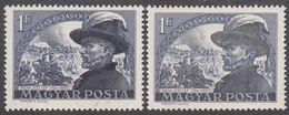 HUNGARY  Michel  1144  ** MNH  COLOUR VARIETY - Neufs