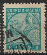 Macao Macau – 1934 Padrões Type 8 Avos - Macao