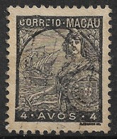 Macao Macau – 1934 Padrões Type 4 Avos - Macao