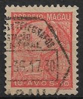 Macao Macau – 1934 Padrões Type 10 Avos - Macao