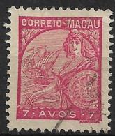 Macao Macau – 1934 Padrões Type 7 Avos - Macao