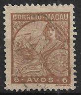 Macao Macau – 1934 Padrões Type 6 Avos - Macao