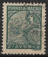 Macao Macau – 1934 Padrões Type 2 Avos - Macao