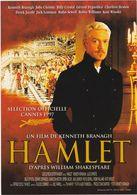 D2209 CARTE PUBLICITAIRE - HAMLET, DE KENNETH BRANAGH - BILLY CRYSTAL / JULIE CHRISTIE / CHARLTON HESTON... - Affiches Sur Carte