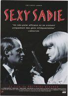 "D2211 CARTE AFFICHE ""SEXY SADIE"", NEO POLAR DE MATTHIAS GLASNER, AVEC CORINNA HARFOUCH ET JÜRGEN VOGEL - 1997 - Affiches Sur Carte"