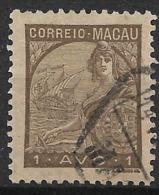 Macao Macau – 1934 Padrões Type 1 Avo - Macao