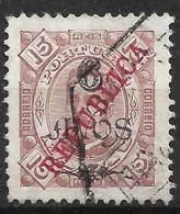 Macau Macao – 1913 King Carlos Local Surcharge REPUBLICA - Macao