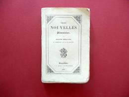 Silvio Pellico Trois Nouvelles Piemontaises Meline Bruxelles 1835 Raro - Bücher, Zeitschriften, Comics