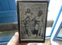 FEMMES ARABES TUNIS NU NUE PHOTOGRAPHIE (TYPE CDV) ANCIENNE CARTONNEE FIG 418 - Photographie