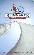 Spinnaker Resorts Hotel Room Key Card - Cartes D'hotel