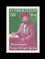 Uzbekistan 1999 Mih. 215 Writer Agakhi MNH ** - Uzbekistan