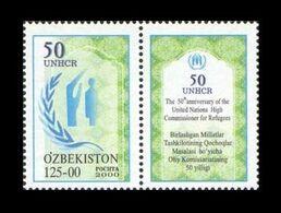 Uzbekistan 2000 Mih. 265 UN High Commissioner For Refugees MNH ** - Uzbekistán