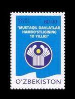Uzbekistan 2001 Mih. 431 Commonwealth Of Independent States MNH ** - Ouzbékistan