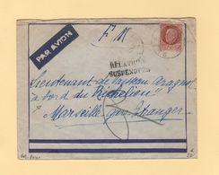 Destination Batiment Richelieu - FM + Avion - Relations Suspendues - 1942 - Guerra Del 1939-45