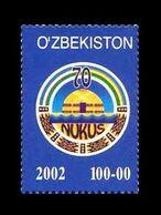 Uzbekistan 2002 Mih. 475 Nukus MNH ** - Ouzbékistan
