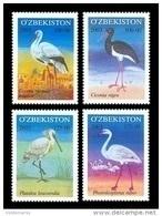 Uzbekistan 2003 Mih. 523/26 Fauna. Birds. Storks MNH ** - Uzbekistan