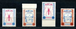 Dubai, 1963, Fight Against Malaria, United Nations, PRINTING ERRORS, MNH, Michel 38, 43 - Dubai