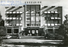 Opel Rekord P I,Mercedes Ponton W120,Jesolo,Lido Dei Lombardi,Hotel Excelsior, Ungelaufen - Voitures De Tourisme