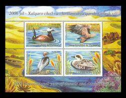 Uzbekistan 2006 Mih. 699/702 (Bl.45) Year Of Deserts. Fauna. Water Birds MNH ** - Ouzbékistan