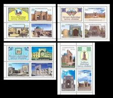 Uzbekistan 2007 Mih. 714/25 Architecture Of Uzbekistan MNH ** - Uzbekistan