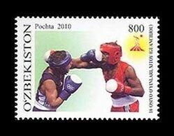Uzbekistan 2010 Mih. 916 Asian Games In Guangzhou. Boxing MNH ** - Uzbekistan