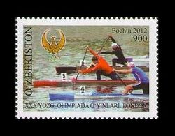 Uzbekistan 2012 Mih. 1042 Olympic Games In London. Rowing MNH ** - Uzbekistán
