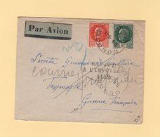Destination Guinee Francaise - Courrier Suspendu - Retour A L Envoyeur - Condom - Gers - 1942 - WW II