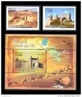 Uzbekistan 2016 Mih. 1142/43 + 1144 (Bl.79) Great Silk Way MNH ** - Uzbekistán