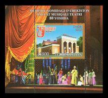 Uzbekistan 2020 Mih. 1404 (Bl.104) Mukimi State Musical Theater MNH ** - Uzbekistán