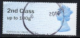 GB 2014 QE2 2nd Post & Go Up To 100gms Used  ( A974 ) - Gran Bretagna