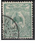 NIOUVELLE CALEDONIE       N°  YVERT  :   115  ( 1 )      OBLITERE       ( Ob   7/ 44  ) - Nueva Caledonia